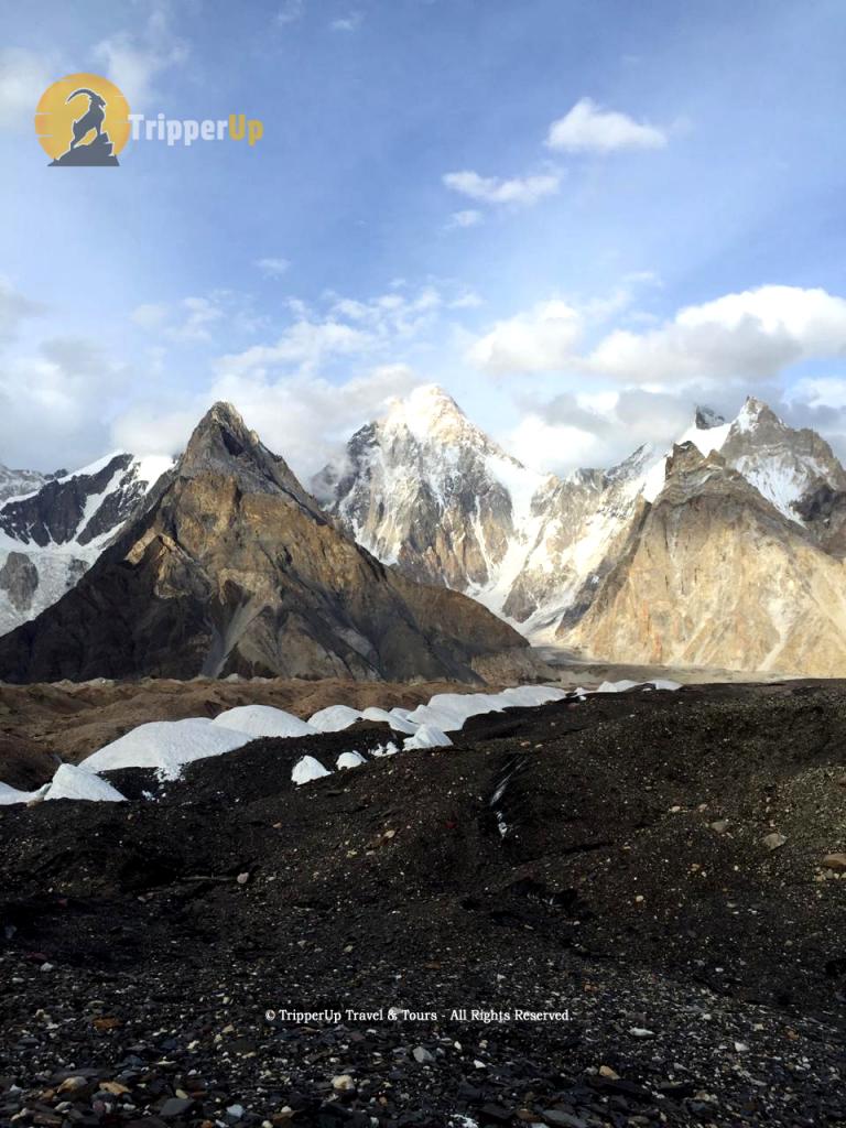 Heading for K2 base camp