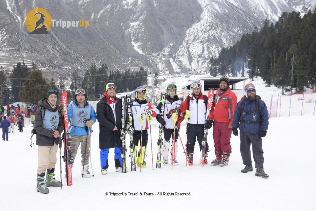 Naltar Skiing Team