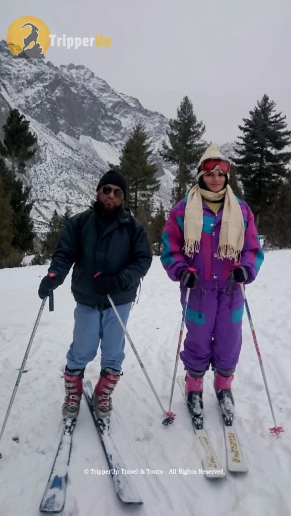 Skiing at Naltar