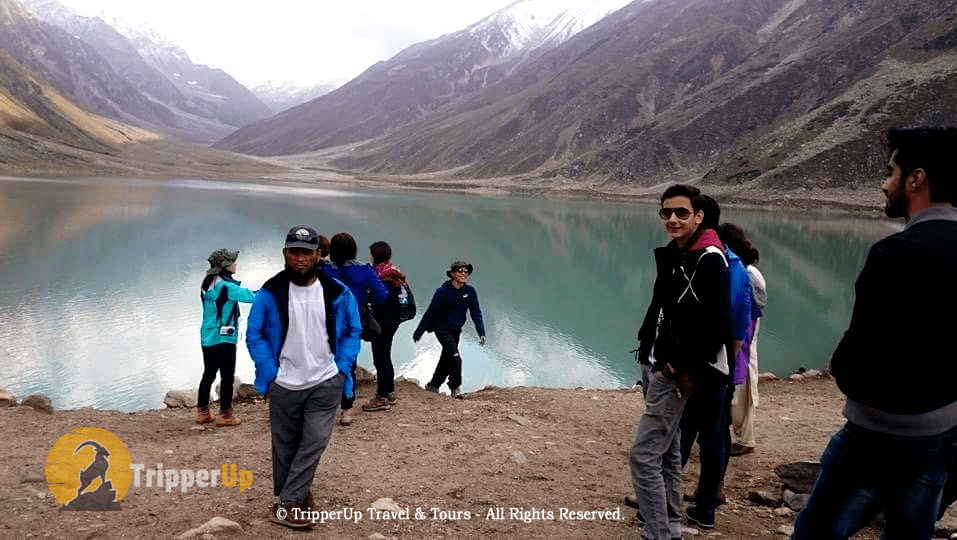 trip to saiful malook with a group